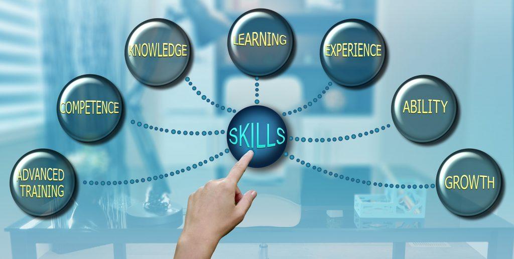compettenties, vaardigheden, kennis, soft skills hard